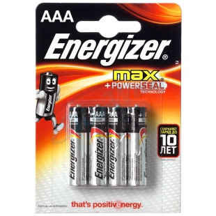 Батарейка Energizer MAX+Power Seal LR03 1 шт.