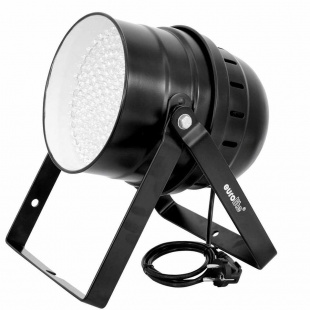 Прожектор Eurolite LED PAR-56 RGB spot, black 10 mm